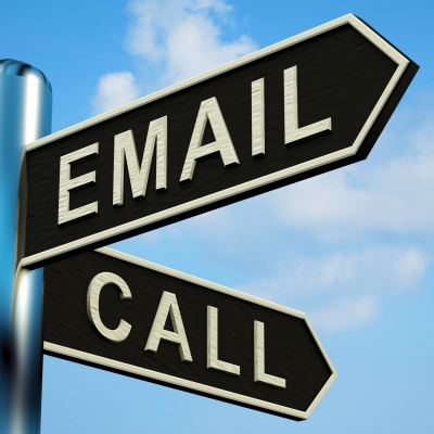 ¿E-mailing o llamadas? - Roldós Blog